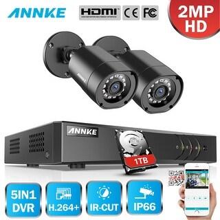 Shop ANNKE 1080P Mini NVR 2 Pack WiFi Cameras System PIR
