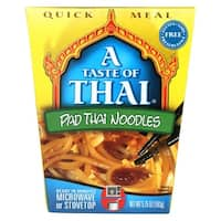 Taste of Thai Pad Thai Sauce - Case of 6 - 5.75 oz.