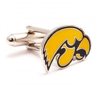University of Iowa Hawkeyes Cufflinks - Yellow