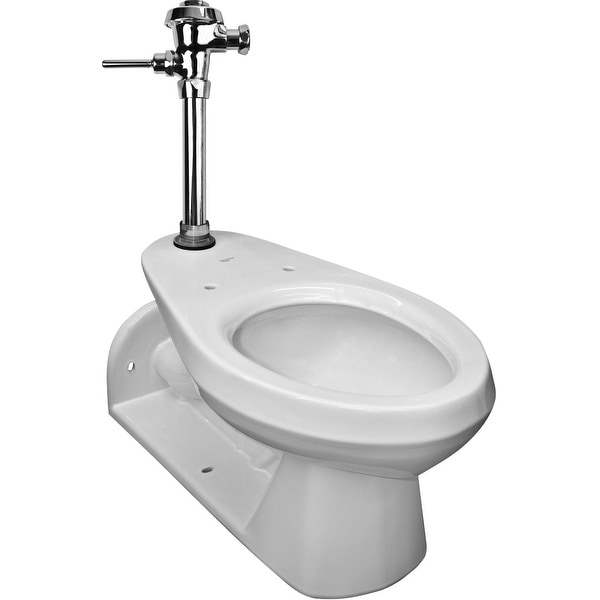 Mansfield 1312 Elongated Toilet Bowl Only - White