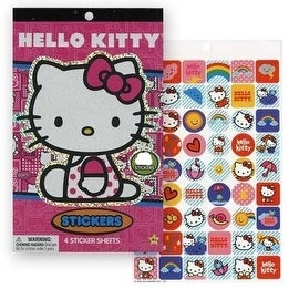 Hello Kitty Sticker Pad 200 Plus Stickers