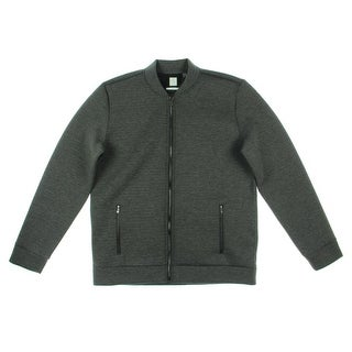 Calvin Klein Mens Basic Jacket Slim Fit Heathered - L