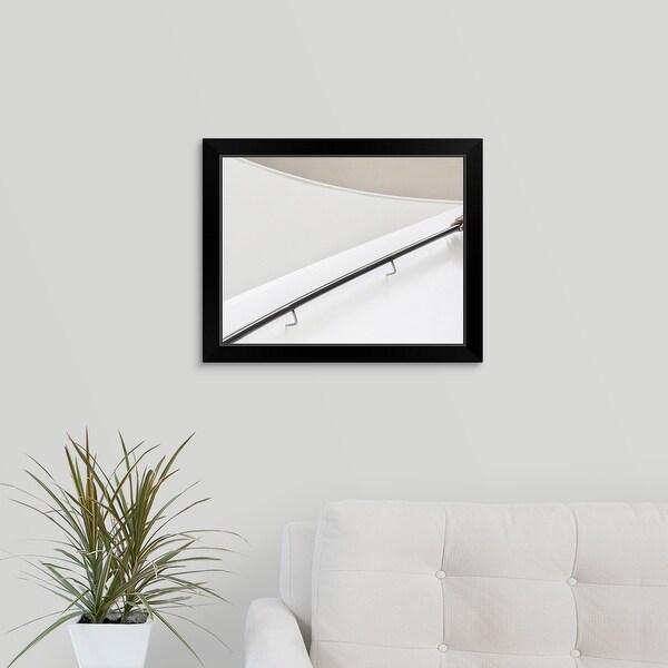 Jeroen Van De Wiel Economy Framed Print with Standard Black Frame entitled The Hand