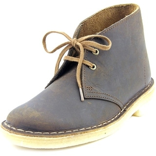 Clarks Originals Desert Boot Men Round Toe Leather Brown Desert Boot