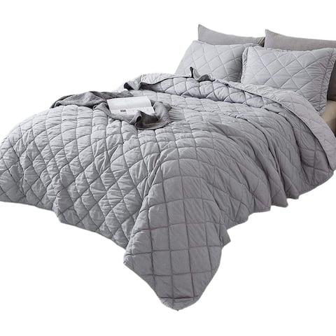 Kasentex Reversible Quilt Set, Coverlet Bedspread
