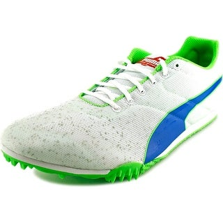 Puma TFX Star v3 Men Round Toe Synthetic White Cleats