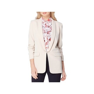 Tahari ASL Womens One-Button Blazer Crepe 3/4 Sleeves (3 options available)