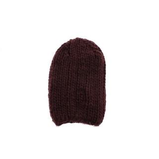 Zara Mens Wool Blend Stretch Beanie Hat - M