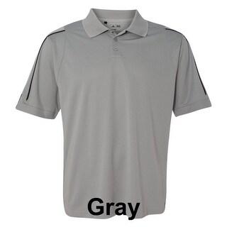 adidas - Golf ClimaLite® 3-Stripes Cuff Polo