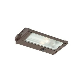 CSL Lighting NMA120L-8 8 Inch Single Light Xenon Under Cabinet Lamp with Speedli