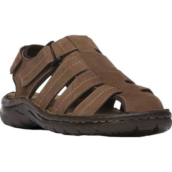 a6536832f767 Shop Propet Men s Joseph Fisherman Sandal Brown Nubuck - Free Shipping  Today - Overstock - 20341353