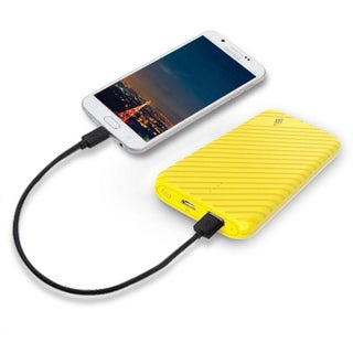LAX Trendy Power Bank 4000 mAh (Option: Yellow)