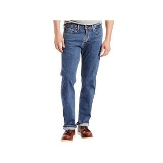 Levi's Mens 505 Classic Jeans Mid-Rise Regular Fit