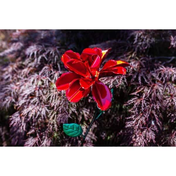 Exhart Rose Flower Wind Spinner
