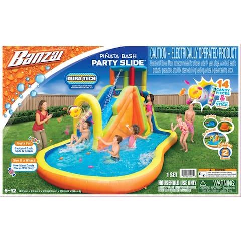 Banzai Inflatable Pinata Bash Party Slide Water Park