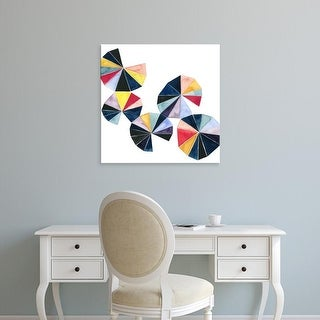 Easy Art Prints Grace Popp's 'Pinwheel Bright II' Premium Canvas Art