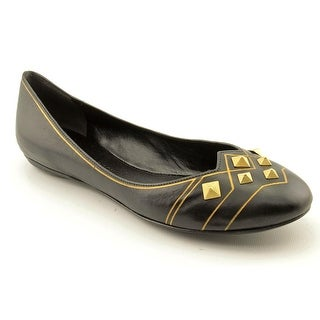 Sigerson Morrison Beacon Women Pointed Toe Leather Black Flats