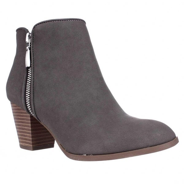 SC35 Jamila Dress Ankle Booties - Gris