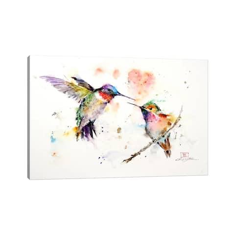 "iCanvas ""Hummingbirds"" by Dean Crouser Canvas Print"