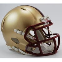 Boston College Riddell Speed Mini Football Helmet