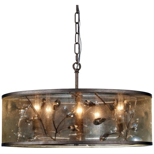 Minka Lavery 4435-252 5 Light Pendant from the Sara's Jewel Collection