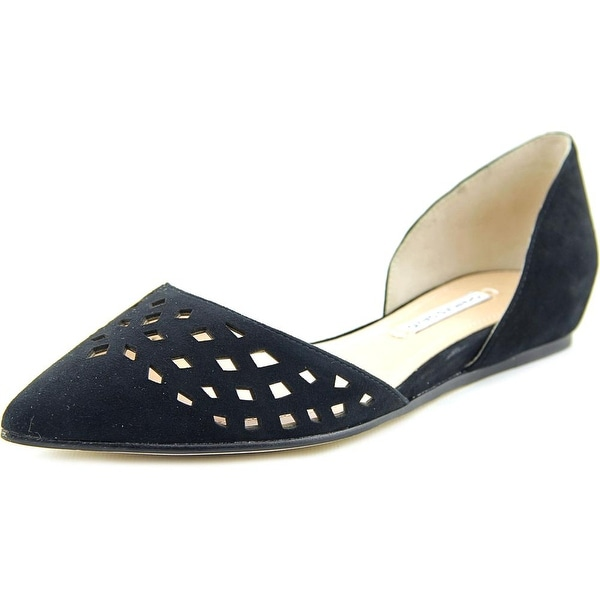 Charles David Bonnie Women Pointed Toe Suede Flats