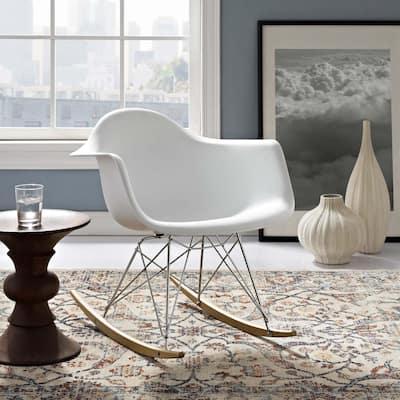 Mid Century Modern Design Rocking Chair