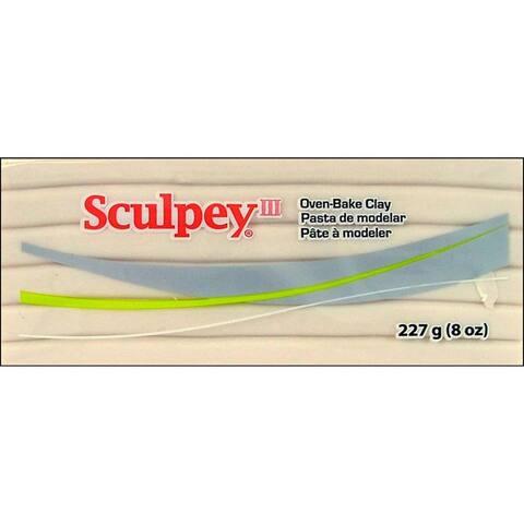 Polyform Sculpey III 8oz Translucent