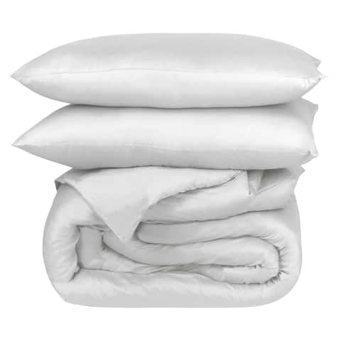 Organic Cotton Percale Duvet Set