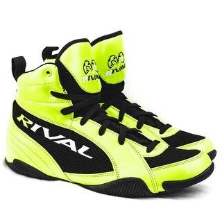 Rival Boxing Lo-Top Guerrero Boots - Lime/Black