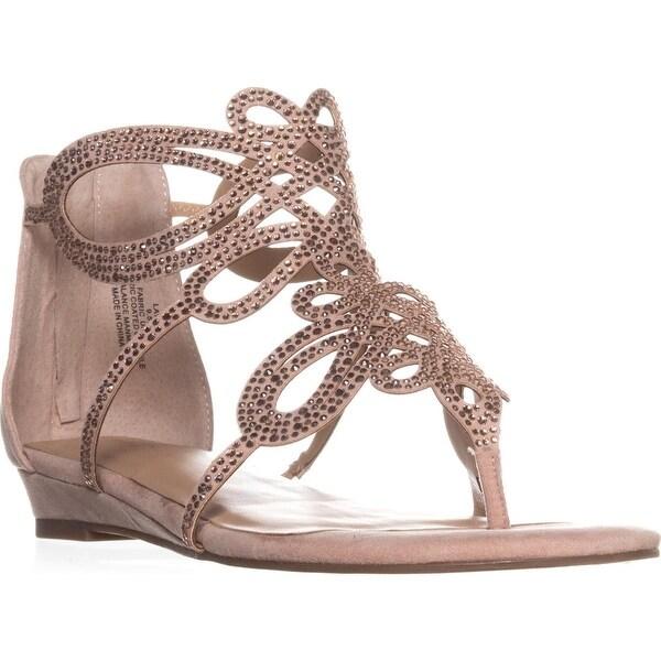 TS35 Laylan Flat Thong Sandals, Blush - 9.5 w us