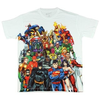 DC Comics New 52 Characters Sublimation T-Shirt (2 options available)