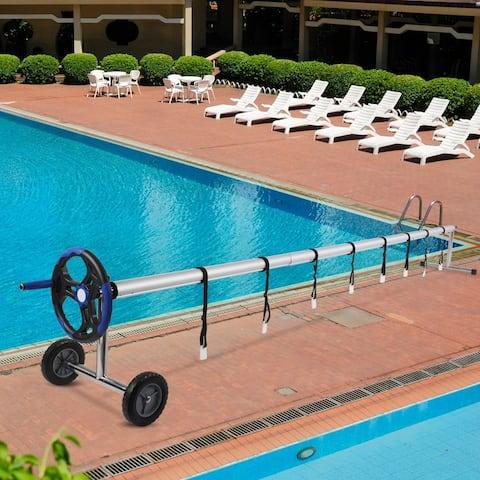18 Ft Aluminum Inground Solar Cover Swimming Pool Cover