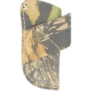 Nocona Knife Sheath Horizontal Camo Leather L Mossy Oak