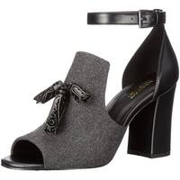 Nine West Womens Bevy Open Toe Ankle Strap D-orsay Pumps