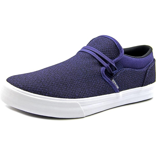 Supra Cuba Round Toe Canvas Loafer
