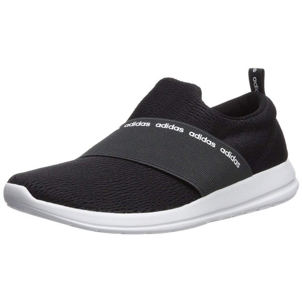 reputable site 968a3 238e7 Adidas Womens Refine Adapt Fabric Low Top Slip On Running Sneaker