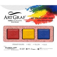Global art material 500592 art graf primary disc set 3 colors