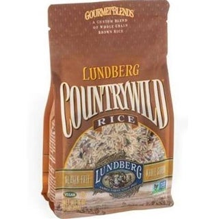 Lundberg Family Farms - Country Wild Brown Rice Blend ( 6 - 16 oz bags)