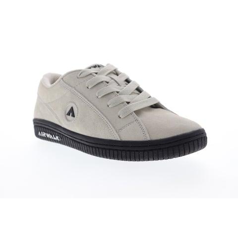 Airwalk Stark White Black Womens Athletic Skate Shoes