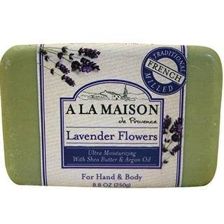 A La Maison - Bars Soap - Lavender Flowers ( 4 - 8.8 OZ)