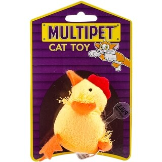 """Chicken - Multipet Look Who's Talking Plush Toy 1.25"""""""