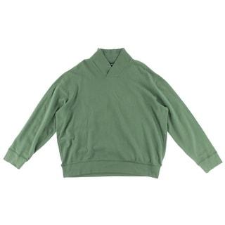 Polo Ralph Lauren Mens Long Sleeves Cotton Polo Sweater - XXL