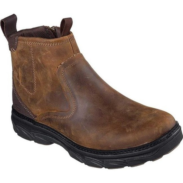 600a23d33e9b Shop Skechers Men s Relaxed Fit Resment Korver Ankle Boot Brown - On ...