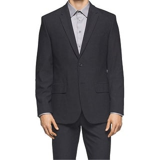 Calvin Klein NEW Gray Men Size Medium M Two Button Notched Lapel Blazer