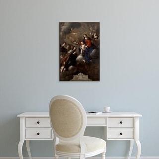 Easy Art Prints Pietro Novelli's 'Coronation of San Casimiro' Premium Canvas Art