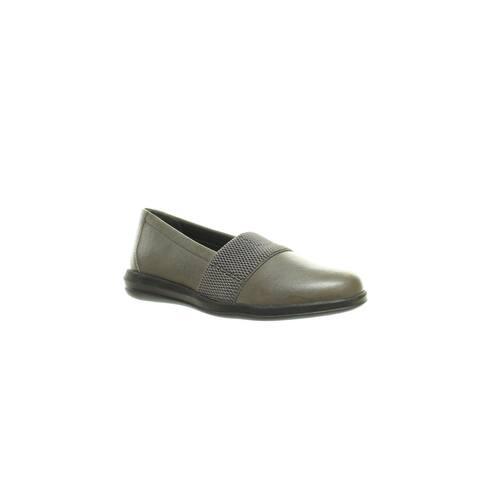 David Tate Womens Hugo Grey Loafers Size 6