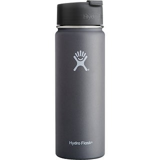 Hydro Flask Wide Mouth with Flip Lid Graphite 21 oz