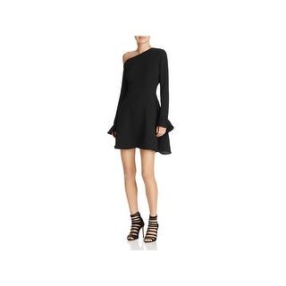 Likely Womens Reese Cocktail Dress One Shoulder Ruffled