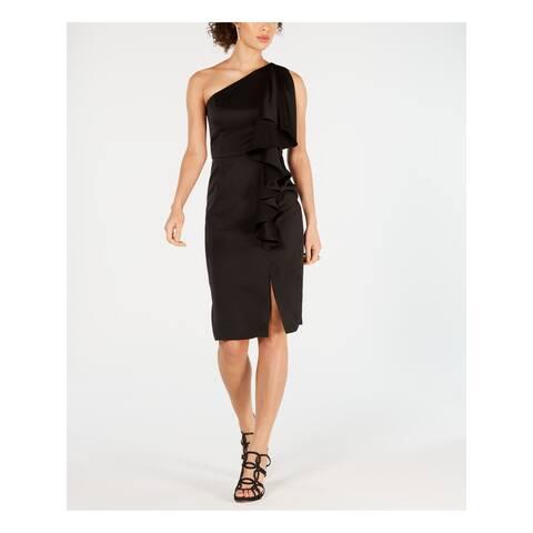 VINCE CAMUTO Black Sleeveless Knee Length Dress 8